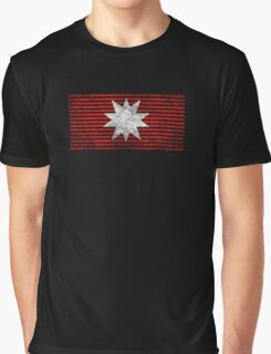 The Expanse - Martian Flag - Dirty Graphic T-Shirt
