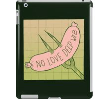 No Web Deep Love iPad Case/Skin