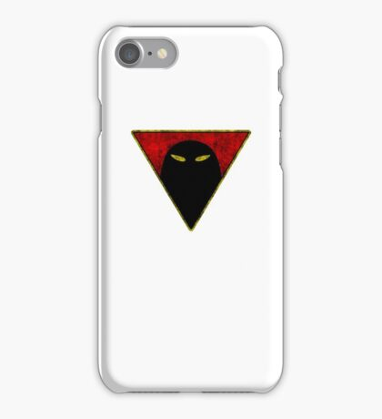 Space Ghost - Chest Symbol - White Dirty iPhone Case/Skin