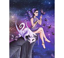Violet Night Fantasy Photographic Print