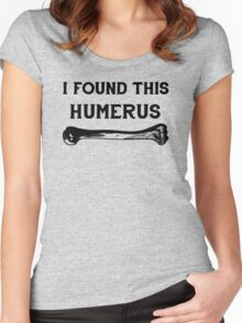 humerus Women's Fitted Scoop T-Shirt