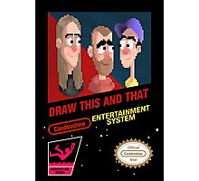 NES Draw This and That Photographic Print