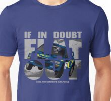 Collin McRae Tribute Flat Out Unisex T-Shirt