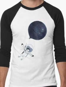 Penguin fly Men's Baseball ¾ T-Shirt