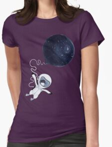 Penguin fly Womens Fitted T-Shirt