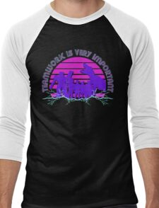 Kung Fury - Teamwork is Very Important! Men's Baseball ¾ T-Shirt