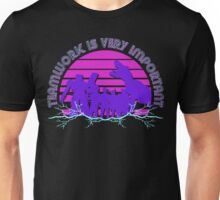 Kung Fury - Teamwork is Very Important! Unisex T-Shirt