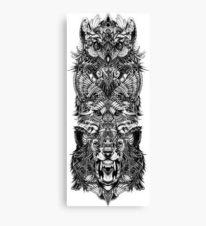 Animal Totem Canvas Print