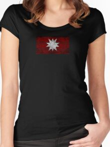 The Expanse - Martian Flag - Dirty Women's Fitted Scoop T-Shirt