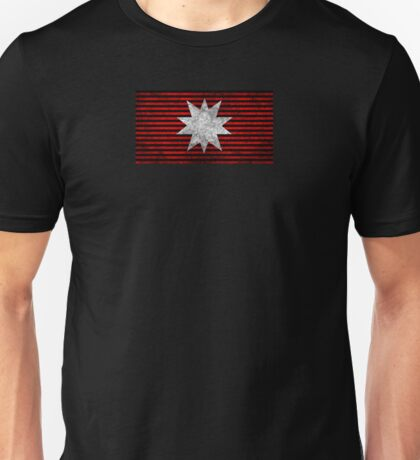 The Expanse - Martian Flag - Dirty Unisex T-Shirt