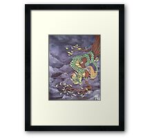 Tree Dragon Framed Print