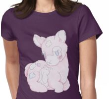Snuggle 'Paca Womens Fitted T-Shirt
