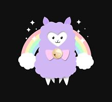 Sparkly Rainbow Pastel Alpaca Unisex T-Shirt