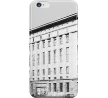 Berghain iPhone Case/Skin