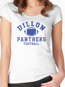 Dillon Panthers Football Women's Fitted Scoop T-Shirt