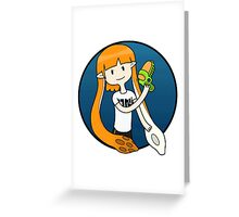 Inkling Girl Greeting Card