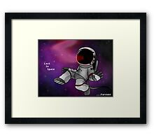 Lost In Space...Forever Framed Print