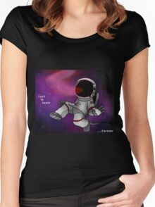 Lost In Space...Forever Women's Fitted Scoop T-Shirt
