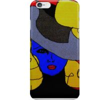 She Took the Blue Pill-S.PHNX iPhone Case/Skin