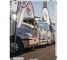 Trucks Lined Up iPad Case/Skin