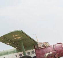 Jason Paul - Airplane Jump Sticker