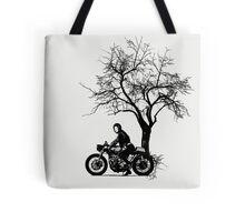 She Rides Tote Bag