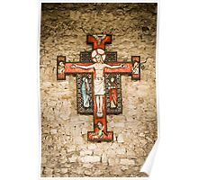 Cross at St Peter on the Wall, Bradwell on Sea Poster