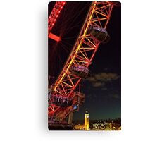 The icons of London Canvas Print