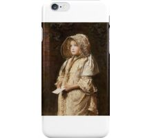 John Everett Millais - For the Squire iPhone Case/Skin