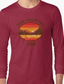 Camp Crystal Lake - Friday 13th Long Sleeve T-Shirt