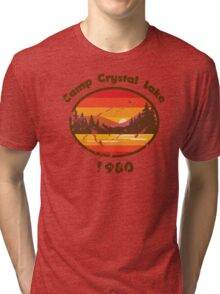 Camp Crystal Lake - Friday 13th Tri-blend T-Shirt
