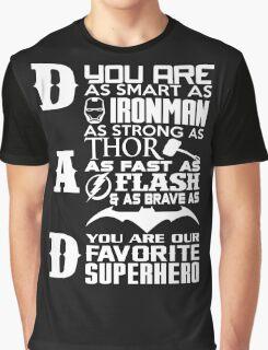 Dad - superhero Graphic T-Shirt