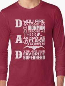 Dad - superhero Long Sleeve T-Shirt