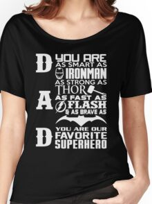 Dad - superhero Women's Relaxed Fit T-Shirt