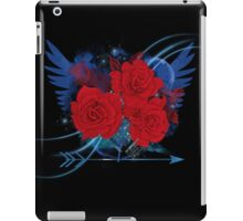 Flower sketch  bouquet hand drawing with wings and arrow  iPad Case/Skin