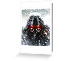 Hellghast KillZone3 Greeting Card