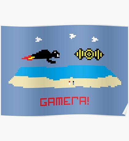 Gamera!  Poster