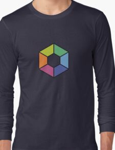 Hexagon - BitGen Remix Long Sleeve T-Shirt