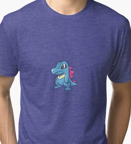 Totodile  Tri-blend T-Shirt