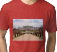 Oberes Belvedere, Vienna Austria Tri-blend T-Shirt