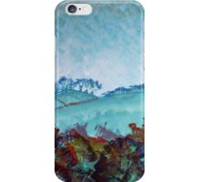 Devon Landscape Painting - The Gloomy Sky iPhone Case/Skin