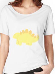 little yellow stegosaurus! :) Women's Relaxed Fit T-Shirt