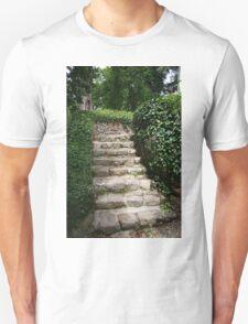 Old Stone Steps Unisex T-Shirt