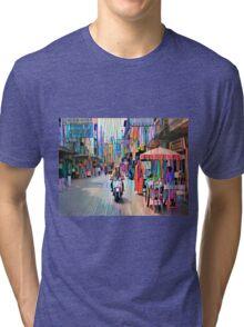 Scooter man Tri-blend T-Shirt