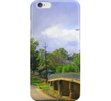 Country Road in Auburn iPhone Case/Skin