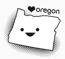 Cute Oregon One Piece - Long Sleeve