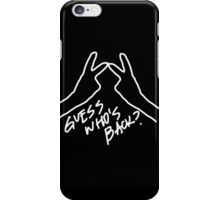winner guess who's back iPhone Case/Skin