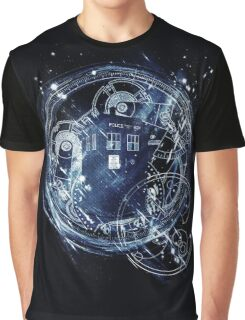 Time and space machine Graphic T-Shirt
