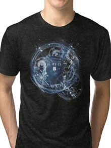 Time and space machine Tri-blend T-Shirt