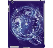 Time and space machine iPad Case/Skin